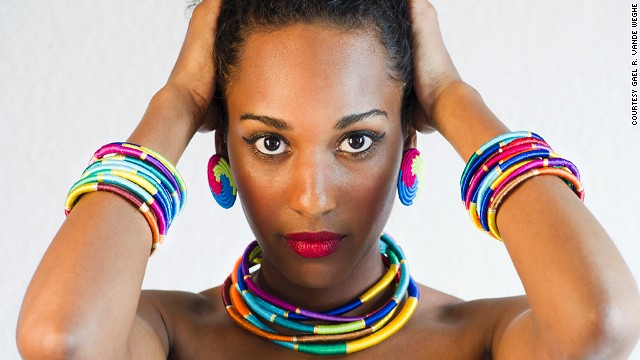 'Sweet but fierce': Fashion brand creates buzz with Africa-inspired designs